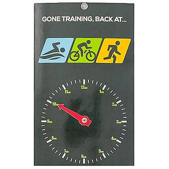 Gone Riding Clock Face - Triathlon