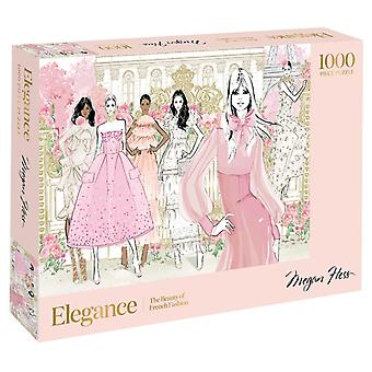Elegance 1000Piece Puzzle by Megan Hess