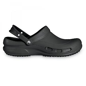 Crocs At Work 10075 Bistro Unisex Work Clogs Black
