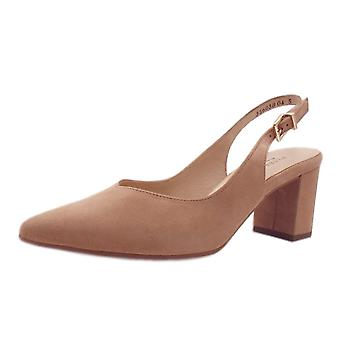 Peter Kaiser Nexy Sling-back Pumps In Biscotti Suede