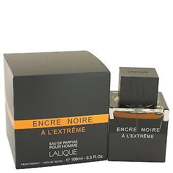 Encre Noire A L'extreme Eau De Parfum Spray por Lalique 3.3 oz Eau De Parfum Spray