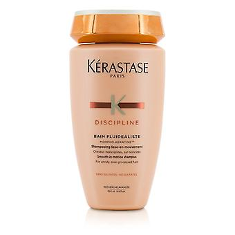 Kerastase Discipline Bain Fluidealiste Smooth-In-Motion Sulfate Free Shampoo - For Unruly  Over-Processed Hair (New Packaging) 250ml/8.5oz