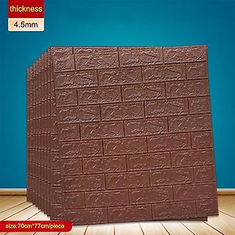 Self Adhesive Waterproof Tv Background Brick, Wallpapers, Wall Sticker, Living