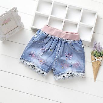 Denim Shorts Summer Lace Pants