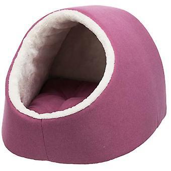 Trixie Cueva Suave Salva Fucsia/Crema (Cats , Bedding , Igloos)
