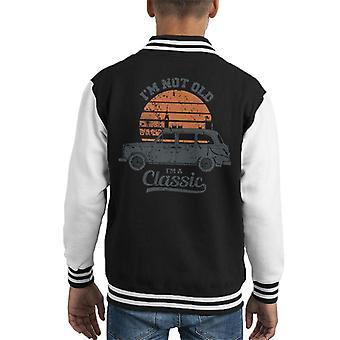 London Taxi Company TX4 Im Not Old Im A Classic Kid's Varsity Jacket