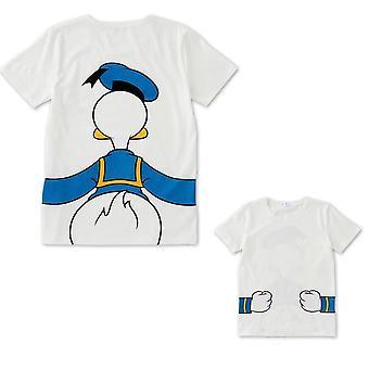 Pai e camiseta, camiseta de mãe e filha