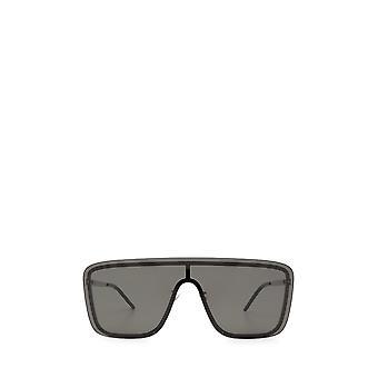 Saint Laurent SL 364 MASK zilveren unisex zonnebril
