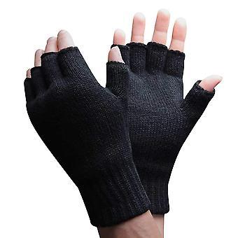 Mens 3m Thinsulate Fingerless Gloves