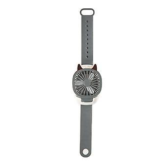 Ventilateur usb portable Mini Watch Ventilateur LED Light Fans Enfants