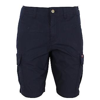 Napapijri noto 4 men's blue marine cargo shorts