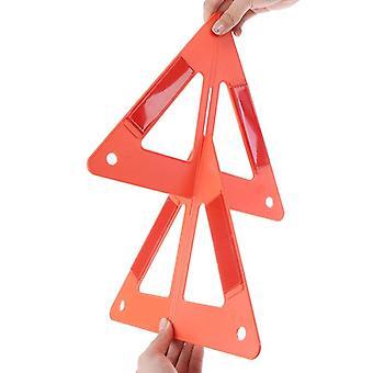 Автомобиль Разбивка Предупреждение Треугольник Чрезвычайная отражающая безопасность Опасности Знак Автомобили