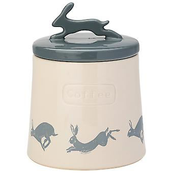 English Tableware Co. Artisan Hare Coffee Canister