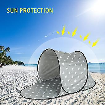 Automatic Outdoor Camping Tent Waterproof Anti UV Beach Tent Ultralight Pop Up Tent