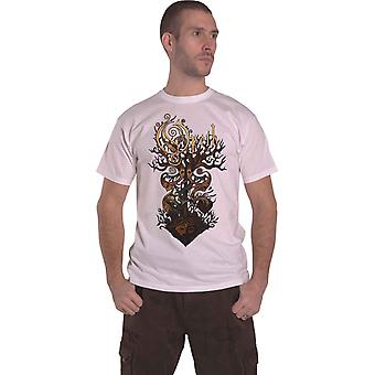 Opeth T Shirt Tree Band Logo new Official Mens White
