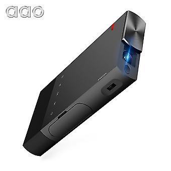 DZK 5200mAh DLP Kannettava S1 Mini Projektori
