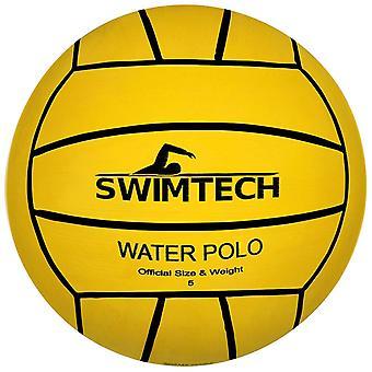 SwimTech Water Polo Yellow Ball  5