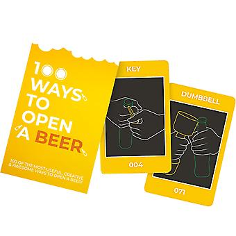 Gift Republic 100 Ways To Open A Beer Card Game
