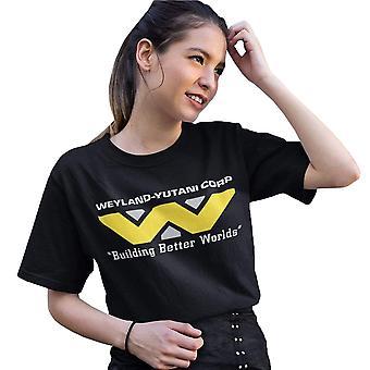 Alien Womens/Ladies Building Better Worlds Boyfriend T-Shirt