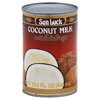Sun Luck Milk Coconut, Case of 12 X 13.5 Oz