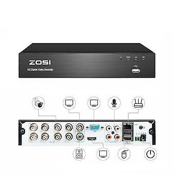 Zosi 4k Ultra 8ch Cvbs Ahd Tvi Cvi Hd H.265+ Turvallisuus DVR-järjestelmä