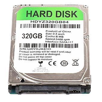 Σκληρός δίσκος Sata III PC 2,5 ιντσών 320GB εσωτερικός σκληρός δίσκος για οικιακά αξεσουάρ υπολογιστή