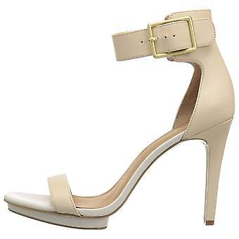 Calvin Klein naisten Vable nahka avoimen rento nilkka hihna sandaalit