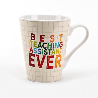 Bedste undervisningsassistent nogensinde porcelæn Krus
