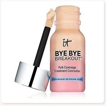Face Makeup Liquid Concealer IT Bye By Treatment Concealer 10.5ml Waterproof Cream Concealer(Fair)