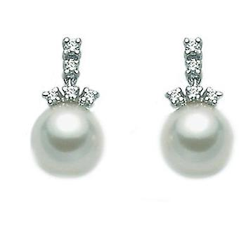 Miluna pearl earrings per1922m