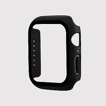 Tempered glass apple watch protective case, black (40mm)