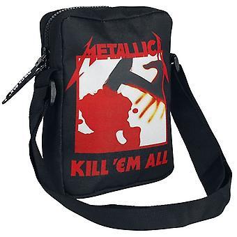 Rock Sax Kill Em All Metallica Crossbody Bag