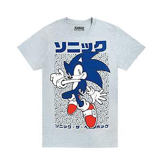 ソニック ザ ヘッジホッグ メンズ 半袖 T シャツ