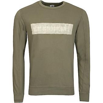 C.P. Company Hand Sprayed Crew Neck Sweatshirt