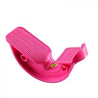 Stretch Plate, Fußmassage Pedal, Relax Dünne Beine (Rosarot)