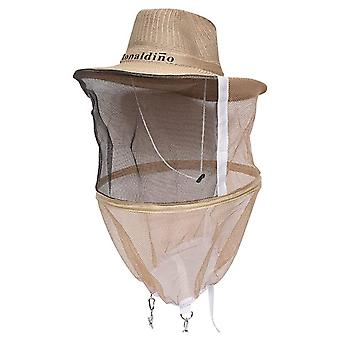 Cowboy Hat With Thick Steel Ring For Indoor And Outdoor Beekeeping