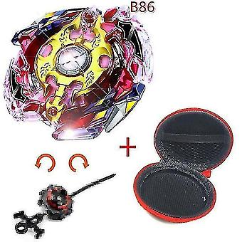 Spinning tops 5 beyblade burst sparking turbo b48 launcher  metal top gyro blade blade spinning fight toys b86