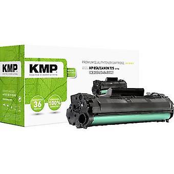 El cartucho de tóner KMP H-T154 reemplazó al cartucho de tóner compatible con los lados HP 85A, CE285A Black 1900