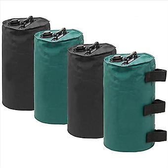 Mimigo Baldachin Wassergewichte Tasche / Beingewichte für Baldachin Zelt Schwarz Grün