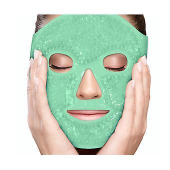 Gel Perles Masque Facial Spa Thérapie Pression Visage Poche Maux de tête