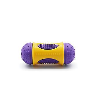 Žuvanie molárov Hračky pre psov, Interaktívne hračky pre psov, Dávkovače občerstvenia, fialové