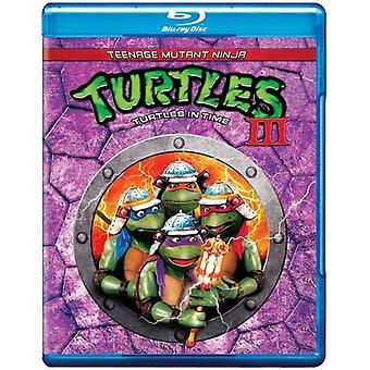 Teenage Mutant Ninja Turtles 3 [BLU-RAY] USA import