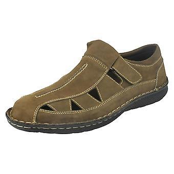 Mens Thomas Blunt Cut Out Upper Summer Shoes A1120