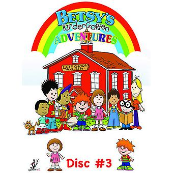 Betsy's Kindergarten Adventures 3 [DVD] USA import
