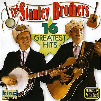 Stanley Brothers - 16 importu USA Greatest Hits Ewangelii [CD]