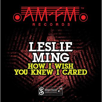 Leslie Ming - How I Wish You Knew I Cared [CD] USA import