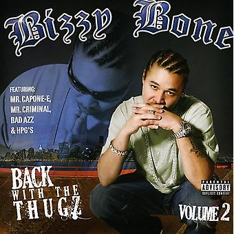 Bizzy Bone - Back with the Thugz Pt. 2 [CD] USA import