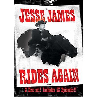 Jessie James Rides Again [DVD] USA import