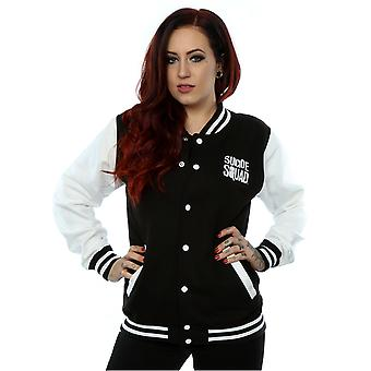 Suicide Squad Women's Joker Icon Varsity Jacket