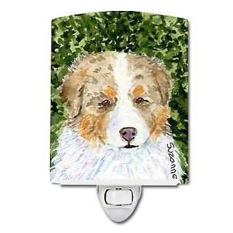 Carolines Treasures  SS8732CNL Australian Shepherd Ceramic Night Light